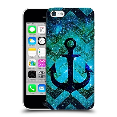 Official Monika Strigel Galaxy Anchors Emerald Hard Back Case For Apple Iphone 5C