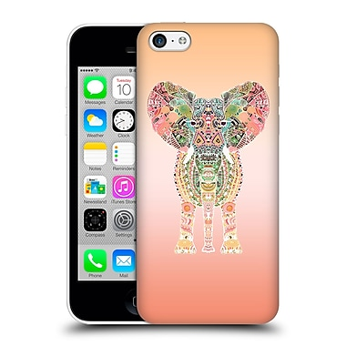 Official Monika Strigel Gypsy Elephant Orange Hard Back Case For Apple Iphone 5C
