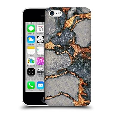 Official Monika Strigel Gemstone And Gold Grey Hard Back Case For Apple Iphone 5C