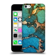 Official Monika Strigel Gemstone And Gold Green Hard Back Case For Apple Iphone 5C