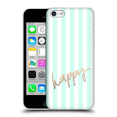 Official Monika Strigel Gold And Happy Pretty Hard Back Case For Apple Iphone 5C