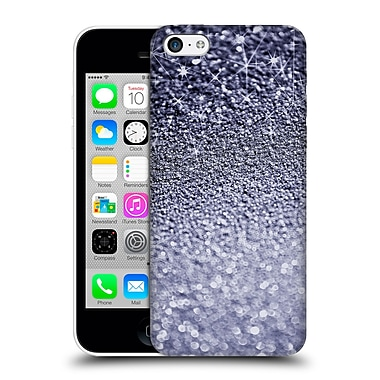 Official Monika Strigel Glitters Dark Silver Hard Back Case For Apple Iphone 5C