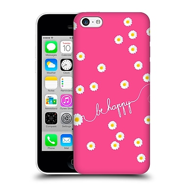 Official Monika Strigel Happy Daisy Hotpink Hard Back Case For Apple Iphone 5C