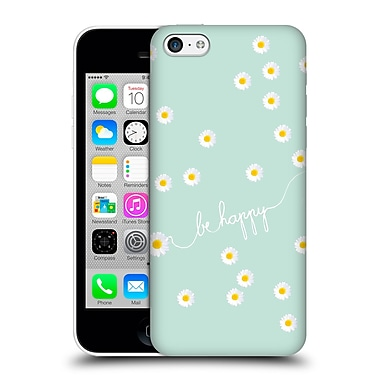 Official Monika Strigel Happy Daisy Mint Hard Back Case For Apple Iphone 5C