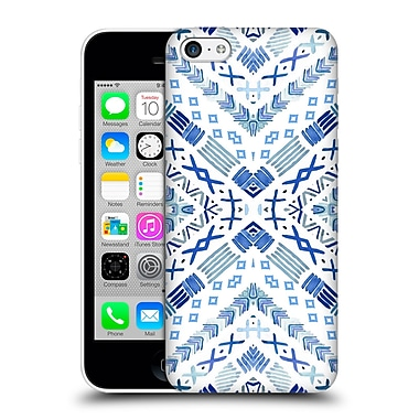 Official Monika Strigel Happy Echo Blue Hard Back Case For Apple Iphone 5C