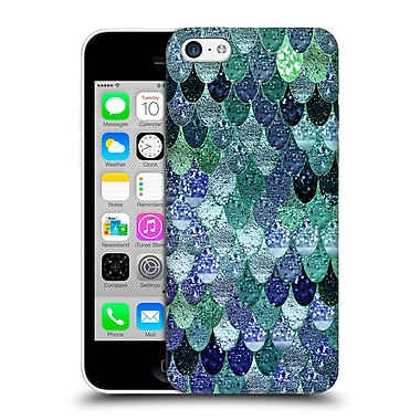 Official Monika Strigel Happy Mermaid Emerald And Blue Hard Back Case For Apple Iphone 5C