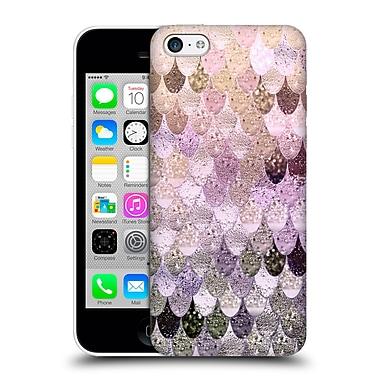 Official Monika Strigel Happy Mermaid Pastel Rose Hard Back Case For Apple Iphone 5C