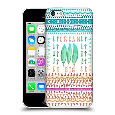 Official Monika Strigel Happy Quote Big Dreams Hard Back Case For Apple Iphone 5C