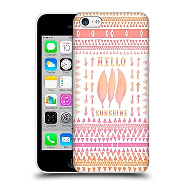 Official Monika Strigel Happy Quote Hello Sunshine Hard Back Case For Apple Iphone 5C
