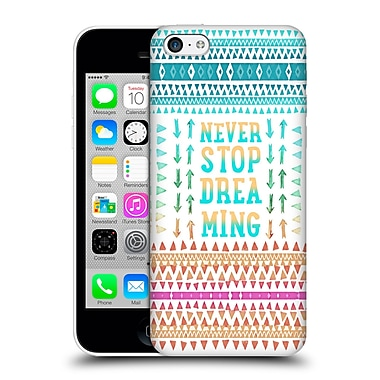 Official Monika Strigel Happy Quote Never Stop Dreaming Hard Back Case For Apple Iphone 5C