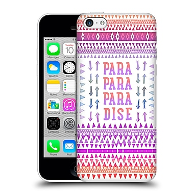 Official Monika Strigel Happy Quote Paradise Hard Back Case For Apple Iphone 5C