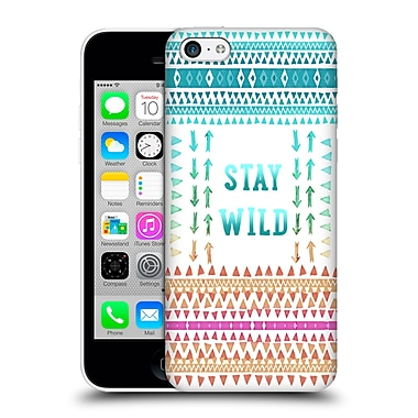 Official Monika Strigel Happy Quote Stay Wild Hard Back Case For Apple Iphone 5C