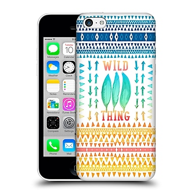Official Monika Strigel Happy Quote Wild Thing Hard Back Case For Apple Iphone 5C