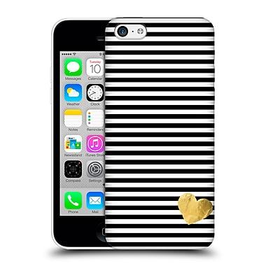 Official Monika Strigel Little Heart Black Hard Back Case For Apple Iphone 5C