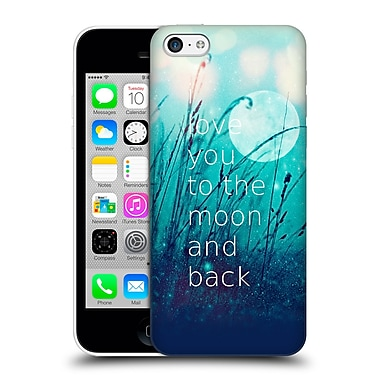 Official Monika Strigel Love Quote Mint Hard Back Case For Apple Iphone 5C
