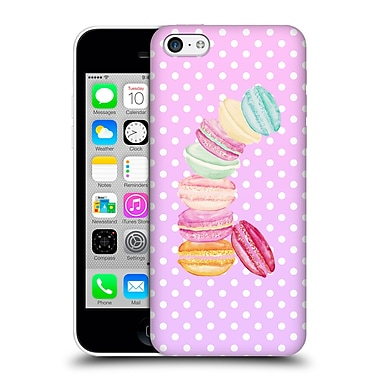 Official Monika Strigel Macarons Pink Hard Back Case For Apple Iphone 5C
