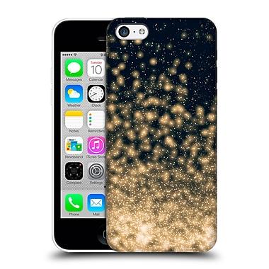 Official Monika Strigel Magic Lights Black Gold Hard Back Case For Apple Iphone 5C
