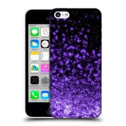 Official Monika Strigel Magic Lights Black Purple Hard Back Case For Apple Iphone 5C