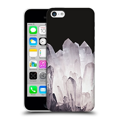 Official Monika Strigel Pure Crystal Silver Hard Back Case For Apple Iphone 5C