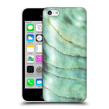 Official Monika Strigel Pastel Seashell Emerald Hard Back Case For Apple Iphone 5C