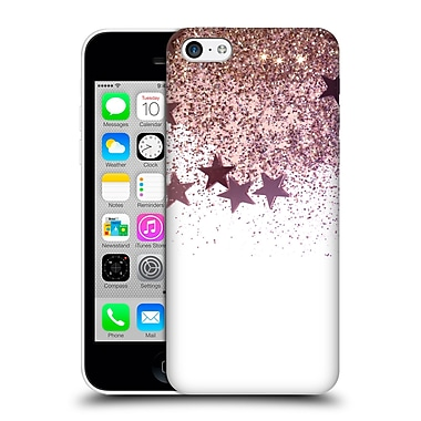 Official Monika Strigel Shaky Stars Gold Pink Mix Hard Back Case For Apple Iphone 5C