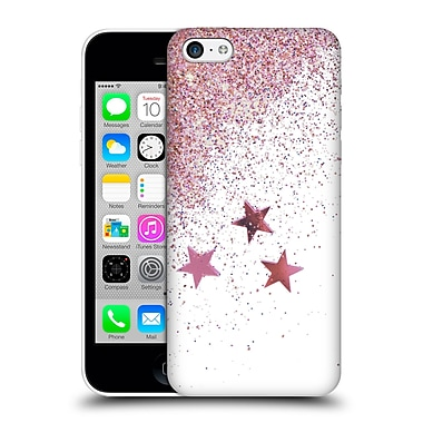 Official Monika Strigel Shaky Stars Pink Hard Back Case For Apple Iphone 5C