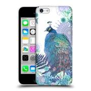 Official Monika Strigel Tropical Peacock Blue Hard Back Case For Apple Iphone 5C