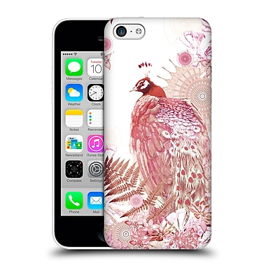 Official Monika Strigel Tropical Peacock Coral Hard Back Case For Apple Iphone 5C