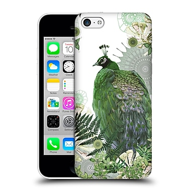 Official Monika Strigel Tropical Peacock Emerald Hard Back Case For Apple Iphone 5C