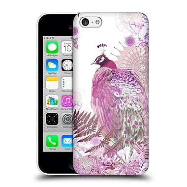 Official Monika Strigel Tropical Peacock Pink Hard Back Case For Apple Iphone 5C