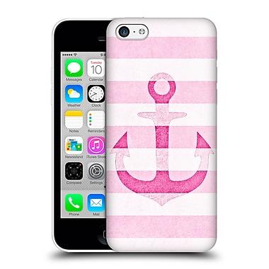Official Monika Strigel Vintage Anchors Pink Hard Back Case For Apple Iphone 5C