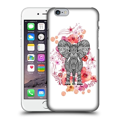 Official Monika Strigel Animals And Flowers Elephant Aztec Hard Back Case For Apple Iphone 6 / 6S