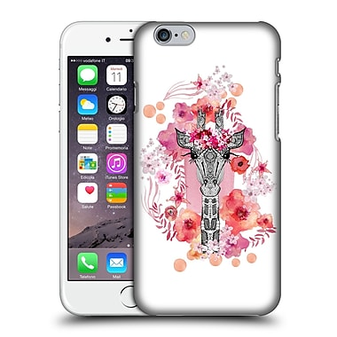 Official Monika Strigel Animals And Flowers Giraffe Hard Back Case For Apple Iphone 6 / 6S