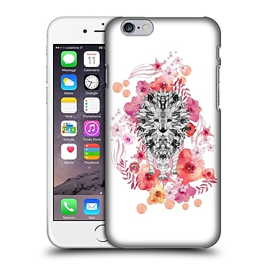 Official Monika Strigel Animals And Flowers Lion Hard Back Case For Apple Iphone 6 / 6S