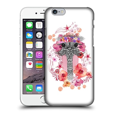 Official Monika Strigel Animals And Flowers Ostrich Aztec Hard Back Case For Apple Iphone 6 / 6S