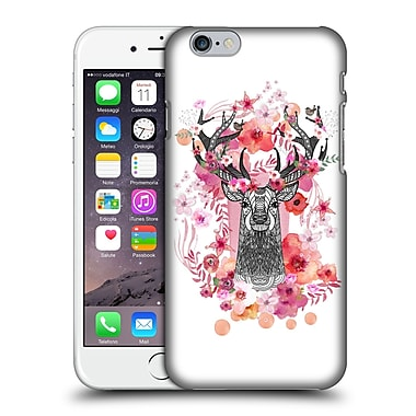 Official Monika Strigel Animals And Flowers Stag Aztec Hard Back Case For Apple Iphone 6 / 6S