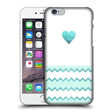Official Monika Strigel Avalon Heart Aqua Hard Back Case For Apple Iphone 6 / 6S