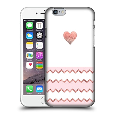 Official Monika Strigel Avalon Heart Coral Hard Back Case For Apple Iphone 6 / 6S