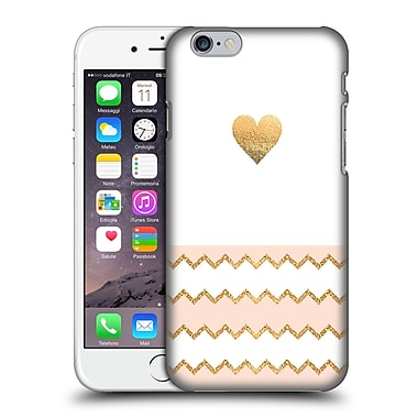Official Monika Strigel Avalon Heart Peach Hard Back Case For Apple Iphone 6 / 6S