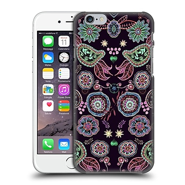 Official Monika Strigel Bring Me Flowers Black Hard Back Case For Apple Iphone 6 / 6S