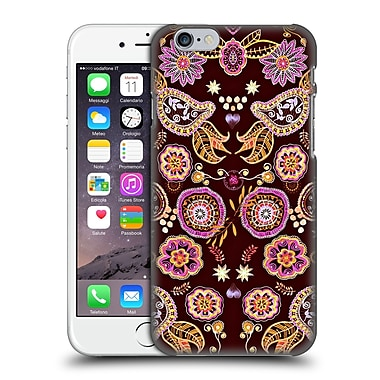 Official Monika Strigel Bring Me Flowers Black Pink Hard Back Case For Apple Iphone 6 / 6S