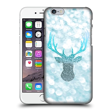 Official Monika Strigel Champagne Glitters 1 Deer Aqua Hard Back Case For Apple Iphone 6 / 6S