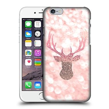 Official Monika Strigel Champagne Glitters 1 Deer Rose Hard Back Case For Apple Iphone 6 / 6S