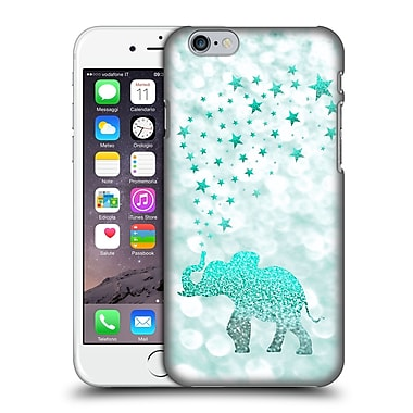 Official Monika Strigel Champagne Glitters 1 Happy Elephant Mint Hard Back Case For Apple Iphone 6 / 6S