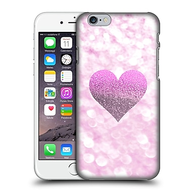 Official Monika Strigel Champagne Glitters 2 Heart Pink Hard Back Case For Apple Iphone 6 / 6S