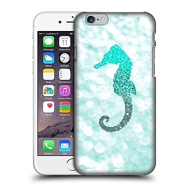 Official Monika Strigel Champagne Glitters 2 Seahorse Mint Hard Back Case For Apple Iphone 6 / 6S