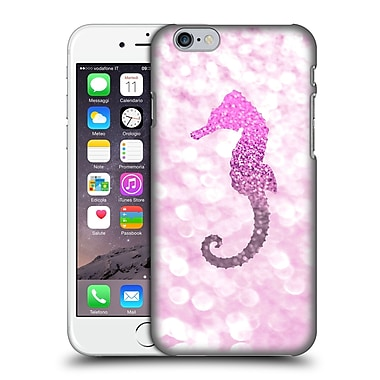 Official Monika Strigel Champagne Glitters 2 Seahorse Pink Hard Back Case For Apple Iphone 6 / 6S