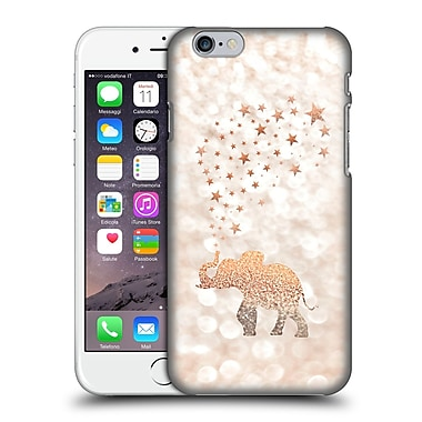 Official Monika Strigel Champagne Gold Happy Elephant Hard Back Case For Apple Iphone 6 / 6S
