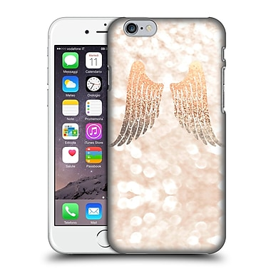 Official Monika Strigel Champagne Gold Wings Hard Back Case For Apple Iphone 6 / 6S