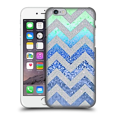 Official Monika Strigel Funky Chevron Blueberry Hard Back Case For Apple Iphone 6 / 6S